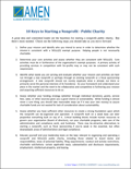 10-keys to starting a nonprofit public charity