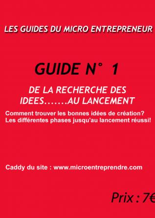 guide numéro 1 de la série micro-entrepreneur.