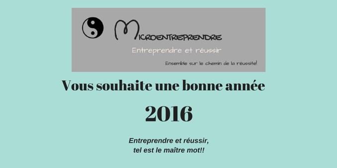 micro entreprise : options avant le 1er février 2016
