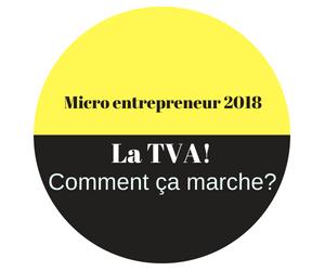 micro entreprise TVA 2018
