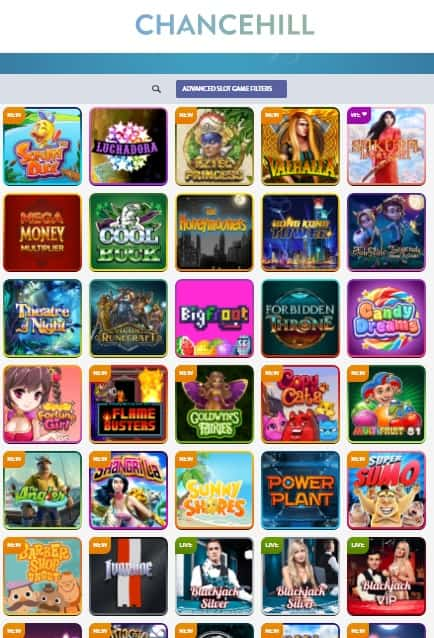 ChanceHill Casino - Exclusive Bonus Offer & Free Spins