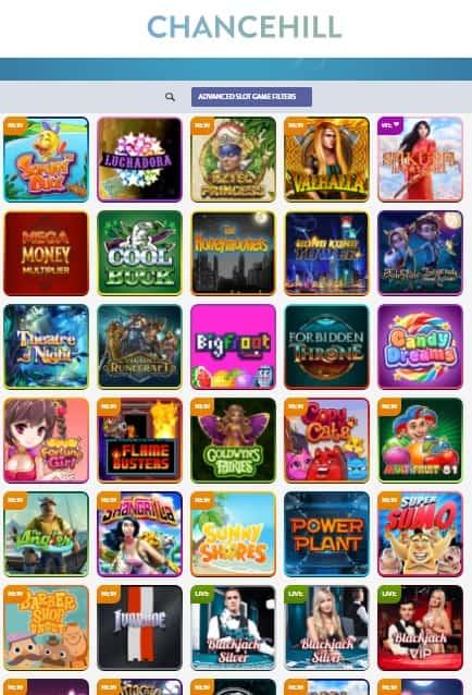 ChanceHill Casino - Exclusive Bonus Offer & Free Spins