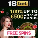 18Bet Casino | 100 free spins and 450% up to €1000 bonus