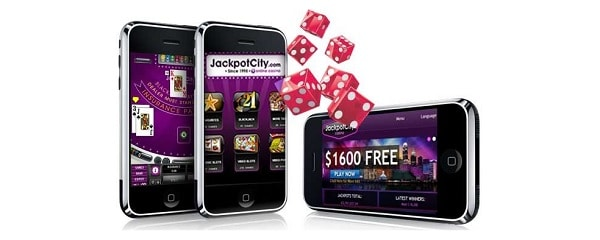 Jackpot City Casino mobile games
