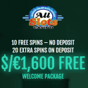 All Slots Casino 30 free spins and 400% up to €1600 welcome bonus