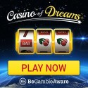 Casino of Dreams 150 free spins + $1000 Welcome Bonus