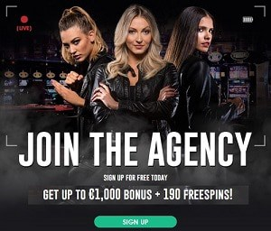 LetsBet Casino welcome bonus: €1000 free chips + 190 free spins
