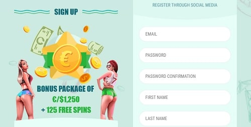 Spinia Casino open your account now
