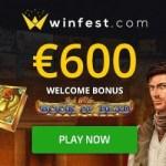 Winfest Casino [winfest.com] €600 gratis and 50 free spins bonus