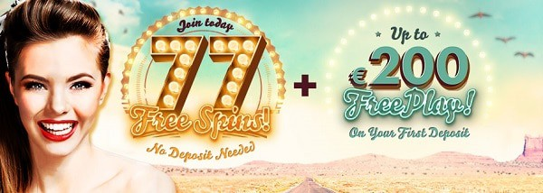 777.com Casino 77 free spins bonus without deposit
