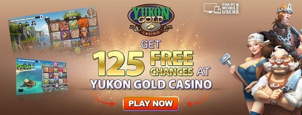Play 125 free spins on Microgaming slot machines!