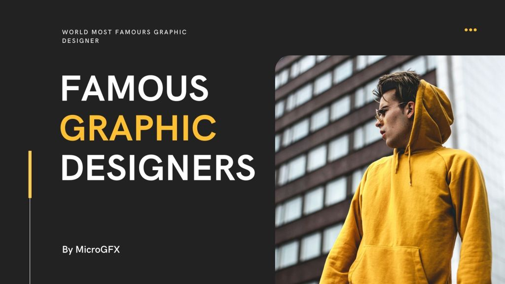 World's Most Famous Graphic Designers of 2020