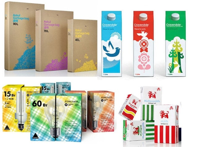 Types of graphic design, Packaging designing