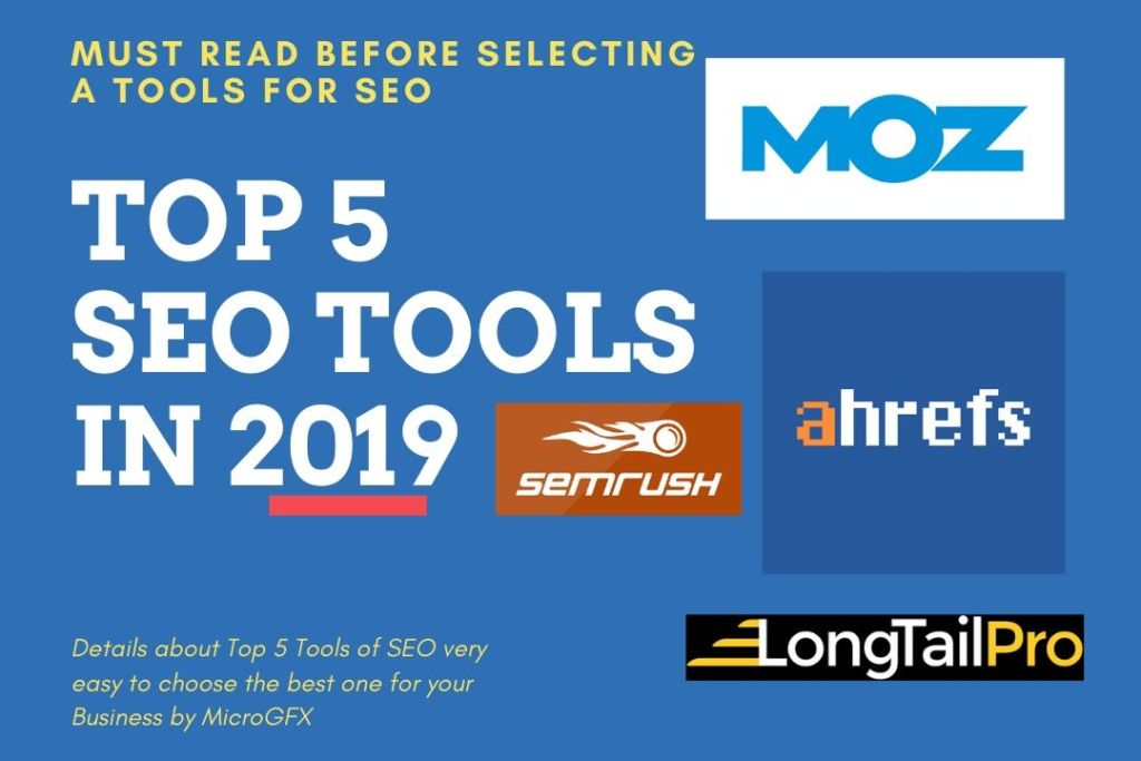 Top 5 SEO Tools by microgfx