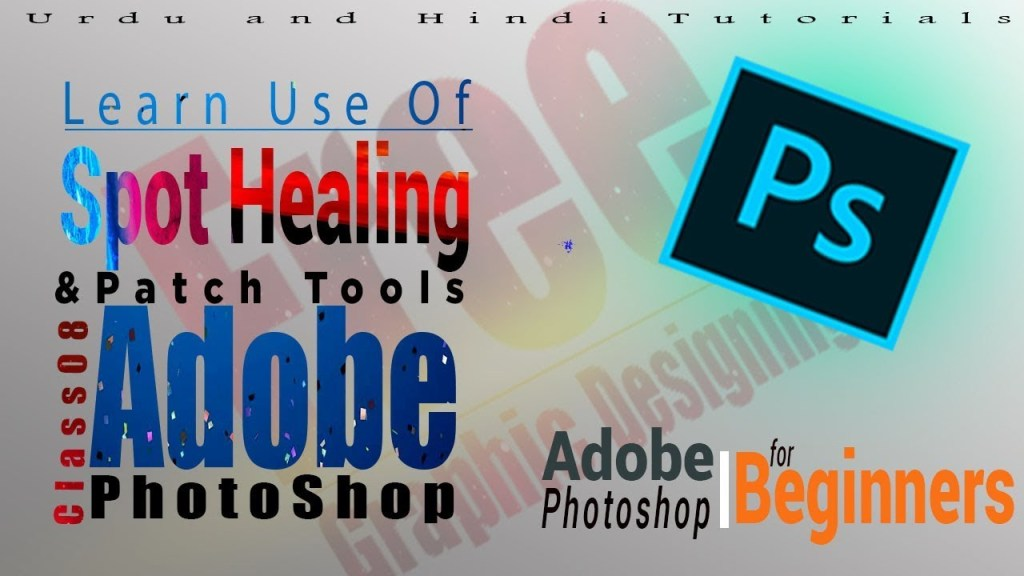 How to Use Spot Healing Tool in Photoshop 2020