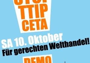 Stop TTIP & CETA! Demo