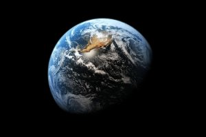 Image of Earth in Space