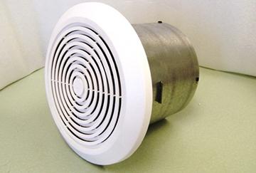 zakačite ventilator ispuha za kupaonicu