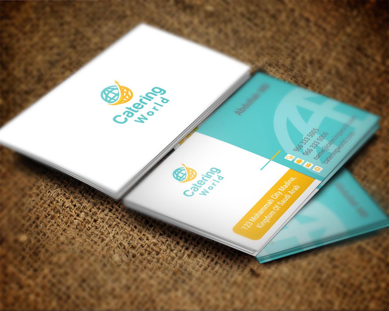 Unique Business Card Design by shujaktk on Envato Studio
