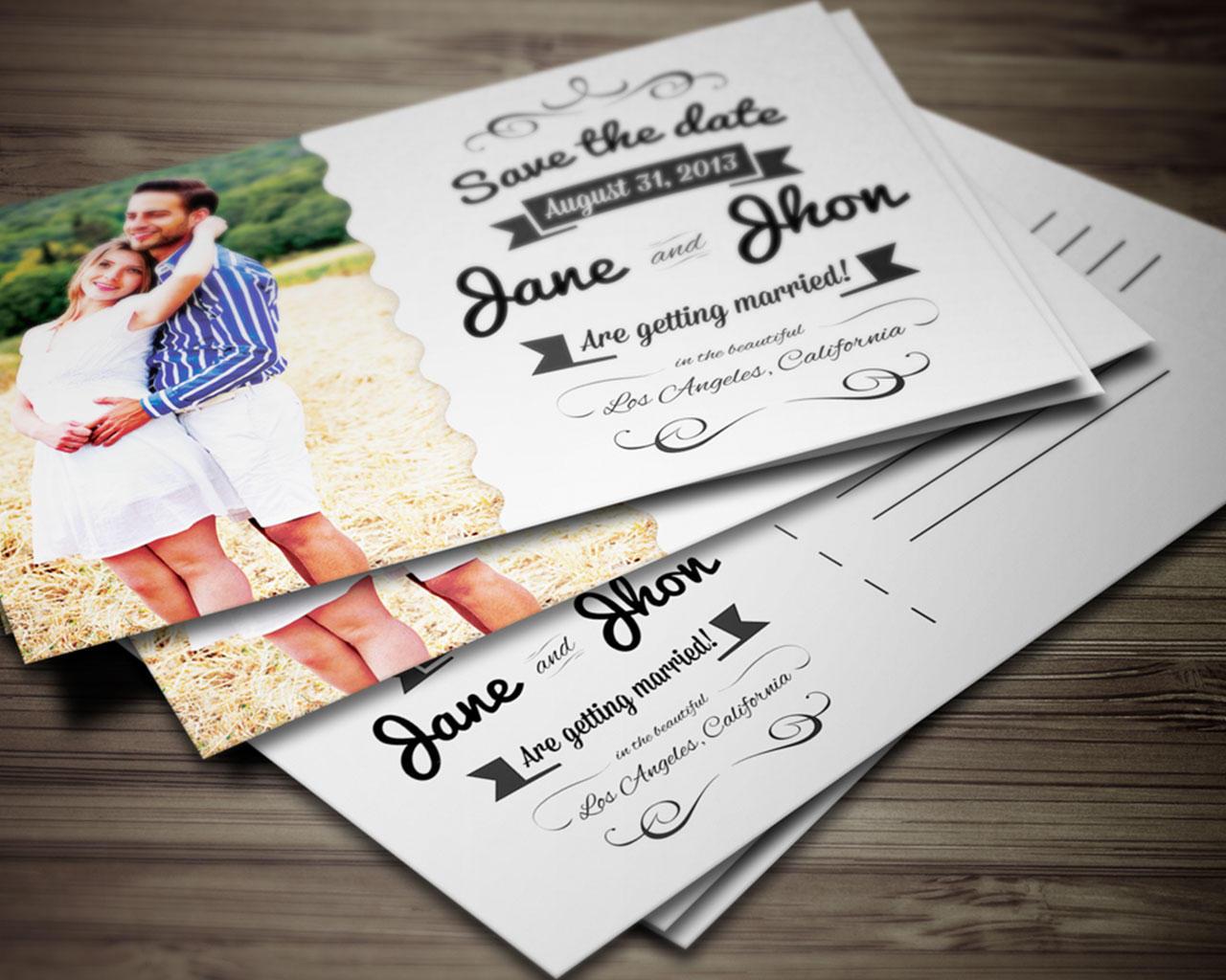 Wedding Invitation Customization Design by CoralixThemes on Envato Studio