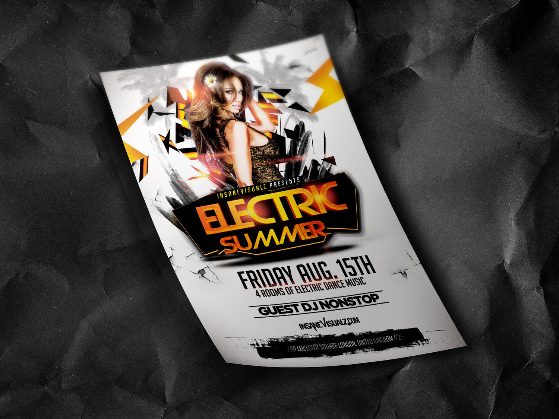 Club/party Flyer Design