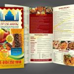 Restaurant Menu Design A4 Bi Fold Tri Fold By Fk Designz On Envato Studio