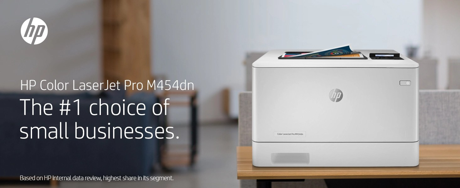 HP Color LaserJet Pro MFP M454dw business multifunction printer moving forward work workload focus