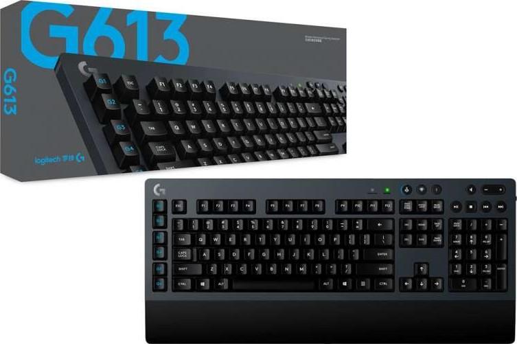 Logitech G613 Lightspeed Mechanical Gaming Keyboard Romer-G Tactile Switch | 920-008393 Buy. Best Price in UAE. Dubai. Abu Dhabi. Sharjah
