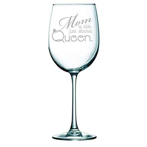DU VINO Mother Definition Funny Wine Glass Mother's Day
