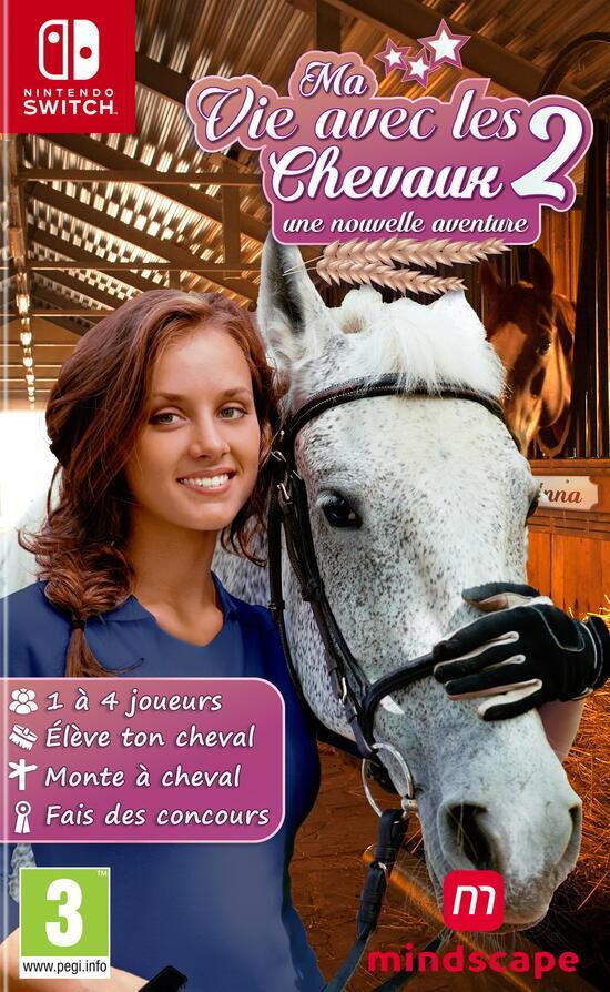 Ma Vie Avec Les Chevaux : chevaux, Chevaux, SWITCH,, Vidéo, SWITCH, Micromania