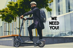 Stock Hiring Scooter