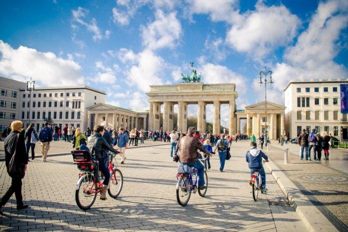 Cycling in Berlin Germany