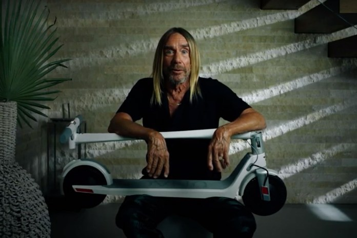 Iggy Pop is the new face of Unagi Scooters