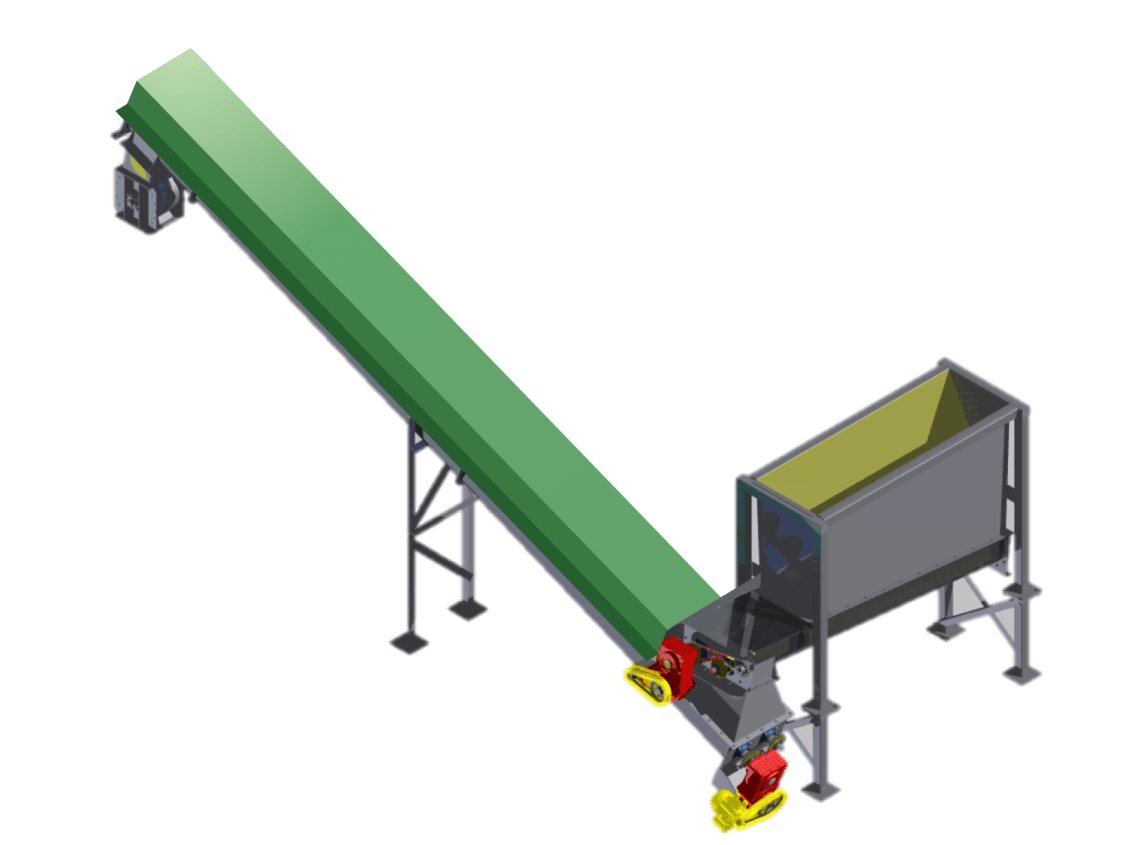 infrared drying conveyor