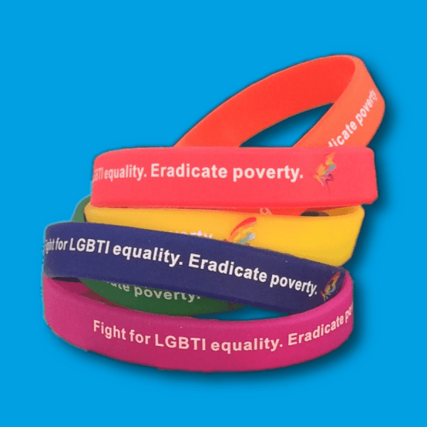 6 x Equality Wristbands