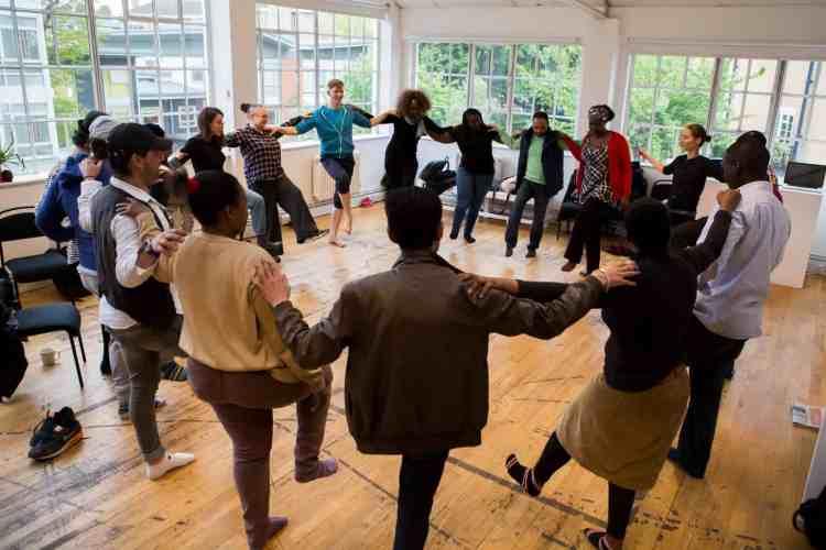 Group dance workshop