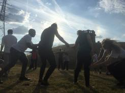 Healing through dancing and by being in close contact with nature