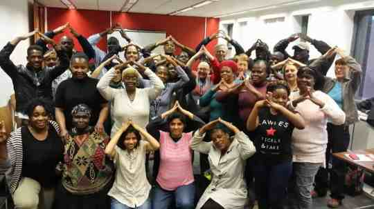 Group of MRI LGBTI refugees choir