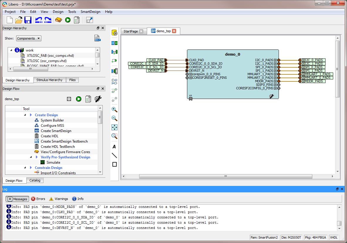 Libero SoC Design Software