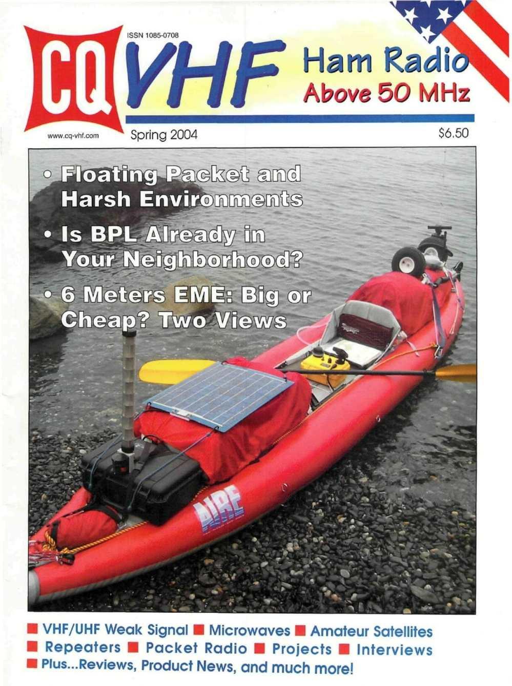 medium resolution of extreme harsh environment packet aprs in kayak cq vhf