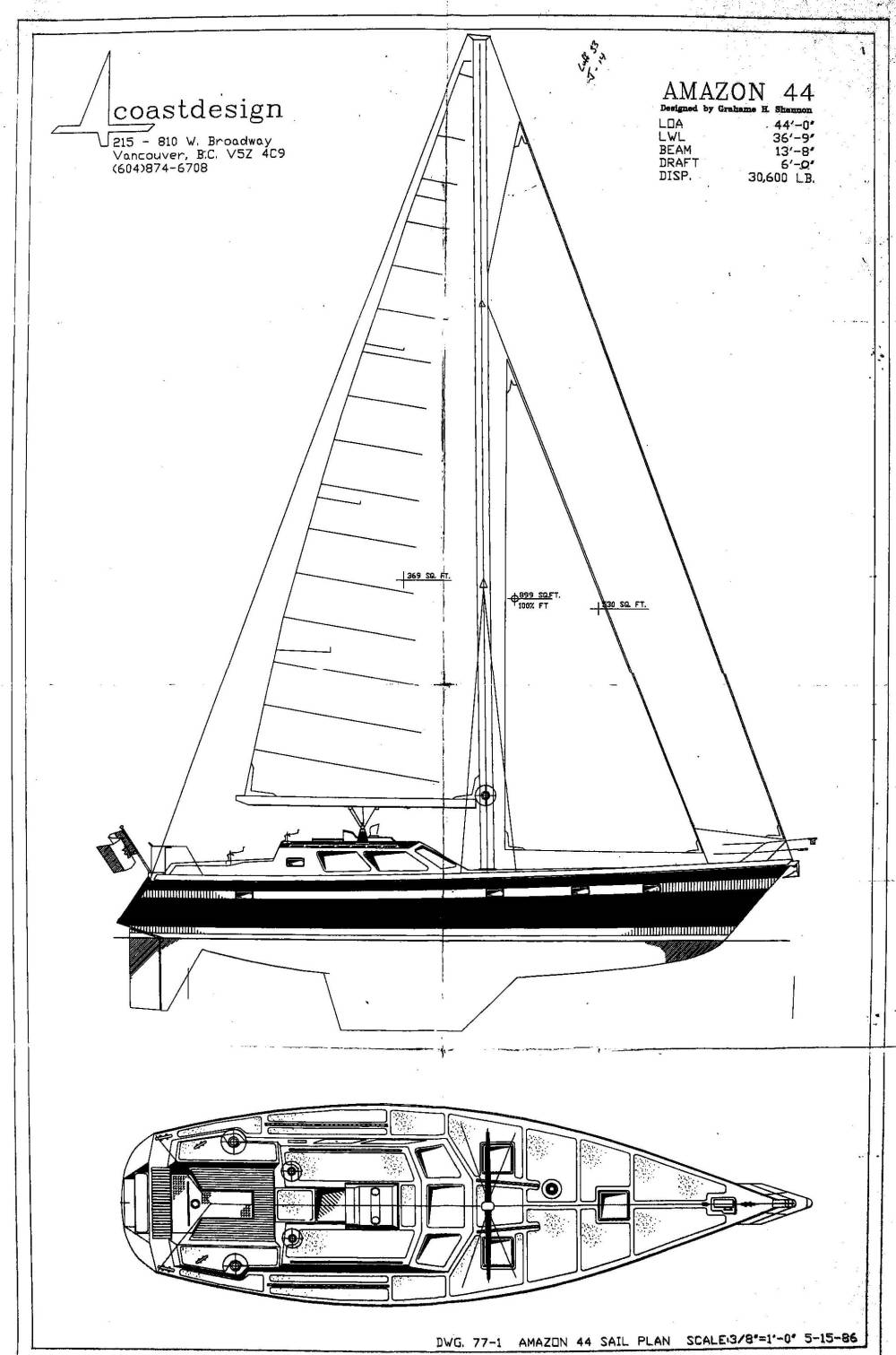 medium resolution of this machine is made for offshore voyaging and supports single handed sailing with all running rigging in the cockpit including the control line for the