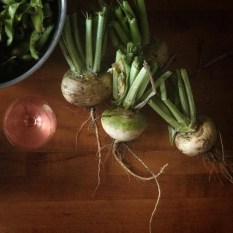 Turnip still life