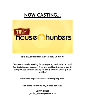 THH Casting Flyer-1