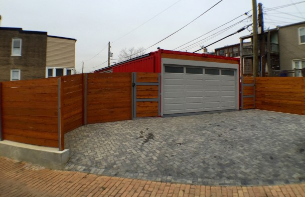 Boombox garage