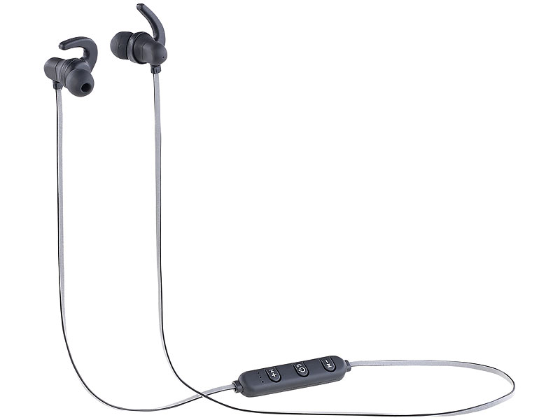 auvisio Bluetooth Freisprecheinrichtungen mit Headsets: In