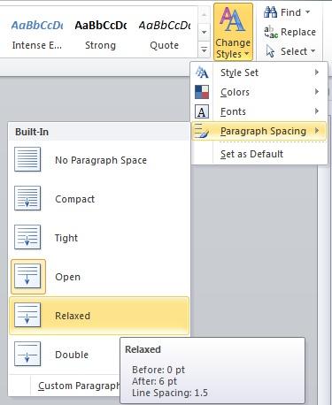 Microsoft Word Line Spacing : microsoft, spacing, Fine-tune, Spacing, Microsoft