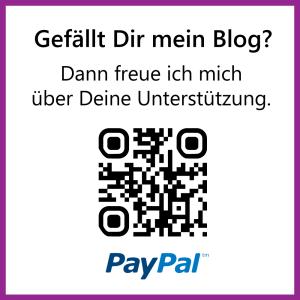 Unterstützung per PayPal