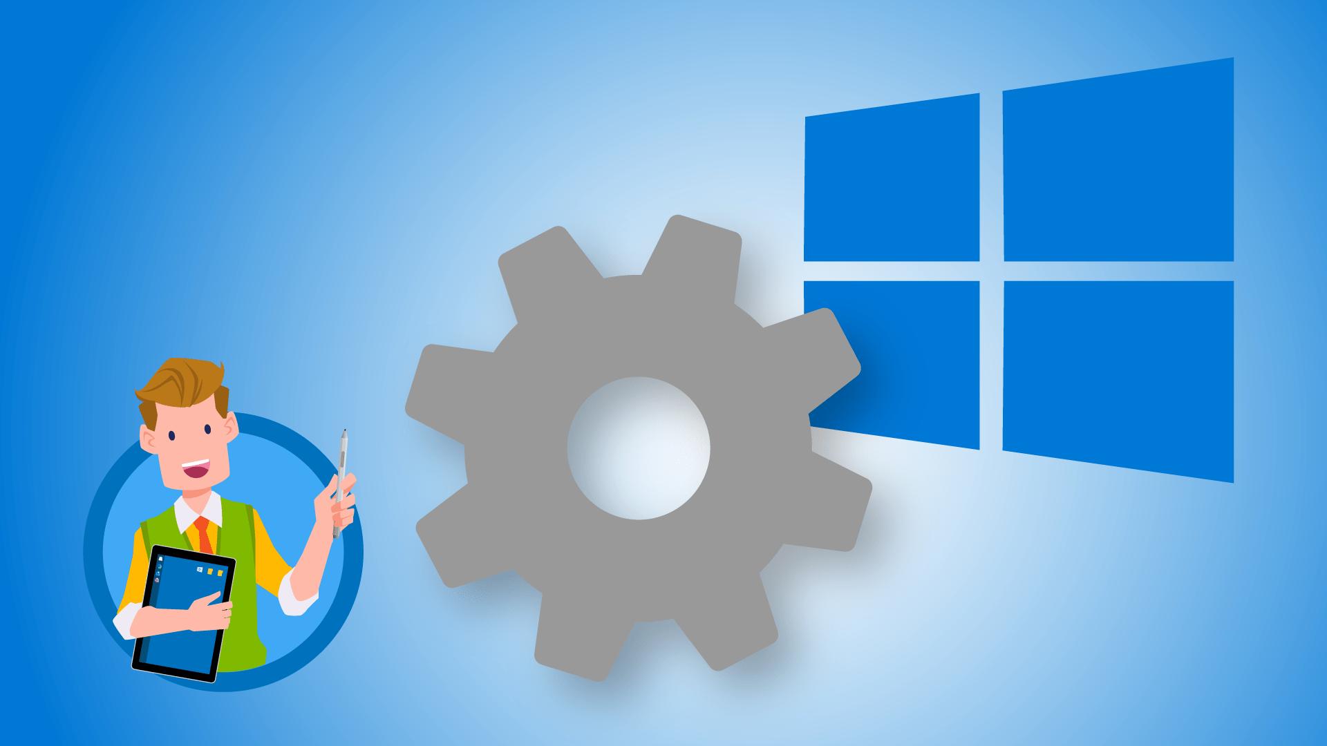 Einstellungen von Windows 10