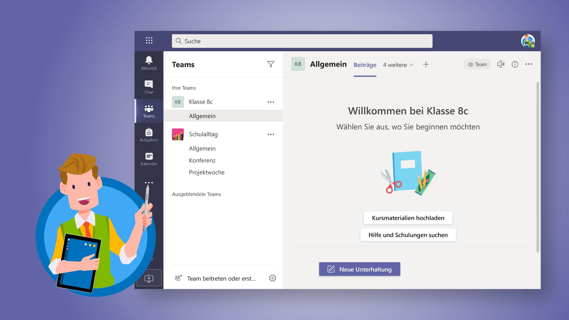 Microsoft Teams: Neues Team erstellen