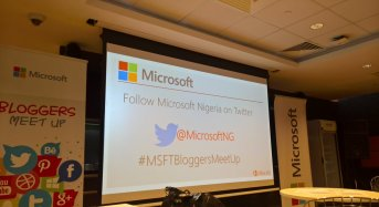 Microsoft Nigeria Hosts Bloggers to a Digital Transformation Interactive session